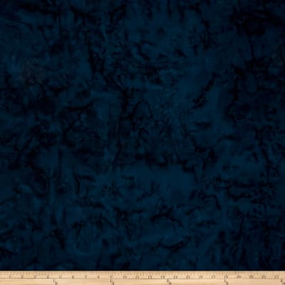 Batik Cotton Basics   Navy