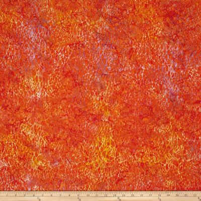 Batik Cotton Blenders Large Netting Nasturtium