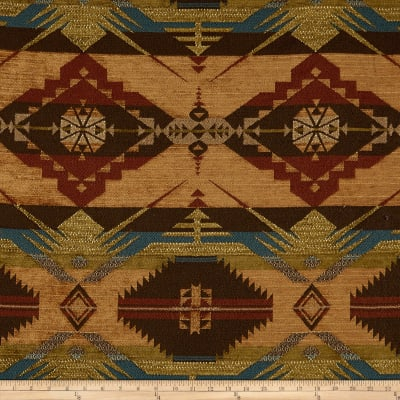 Artistry Navajo Southwest Ten Sleep Jacquard Sienna