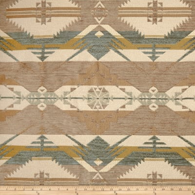 Navajo Southwest Ten Sleep Chenille Jacquard Cloud
