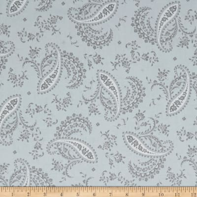 Maywood Studio Greenery Paisley Grey