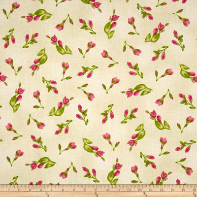 Maywood Studio Paradise Floral Buds Cream
