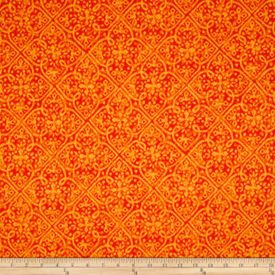Maywood Studio Paradise Embossed Tonal Orange
