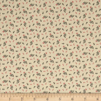 Pam Buda Prairie Shirting Wild Flower Cream