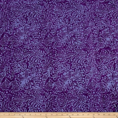 Abstract Batik Purple