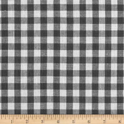 "Yarn Dyed Shirting 1/4 "" Check Grey/White"