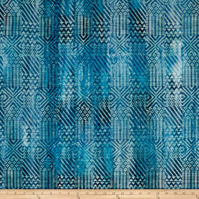 Batik Southwest Patch Blue