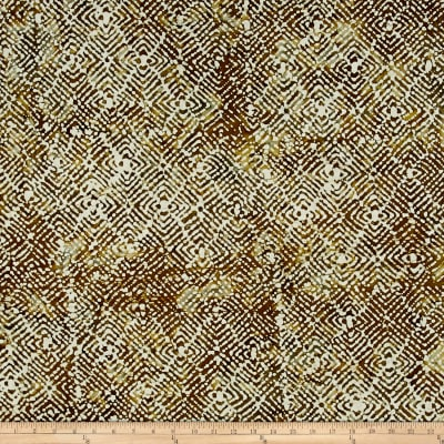 Mosaic Batik Brown/Grey/White