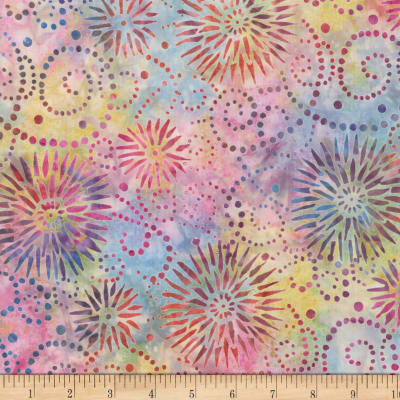 Wilmington Batiks Flower Burst Multi