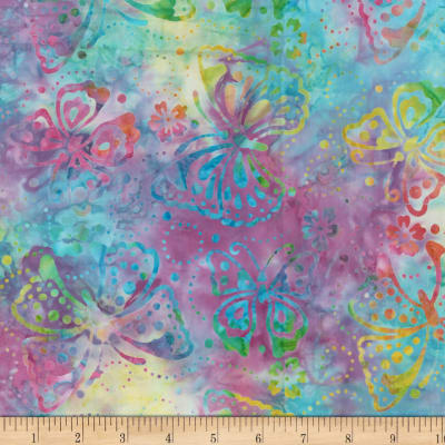 Wilmington Batiks Butterflies Multi