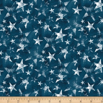 Wilmington Land of Liberty Stars Blue