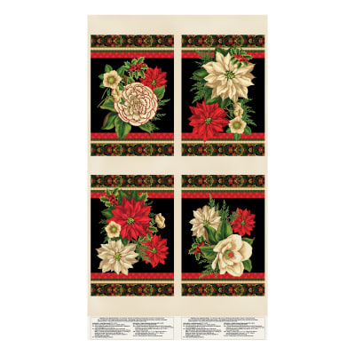 """Wilmington Holiday Lane Placemat 24"""" Panel Multi"""