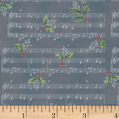 Hoffman Cardinal Carols Sheet Music Metallic Storm/Silver