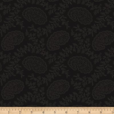 Cinnamon Toast III Small Paisley Black