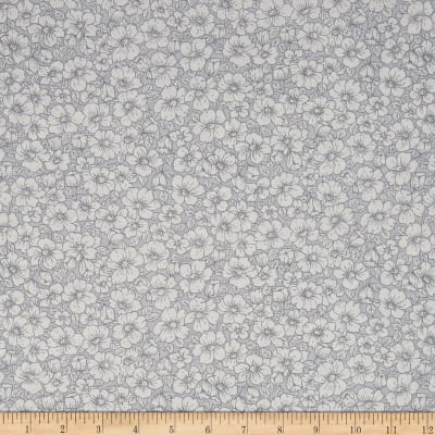 Cream & Sugar VII Floral Gray