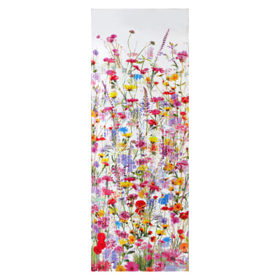 "Hoffman Digital 104"" Wide Back Floral Spring"