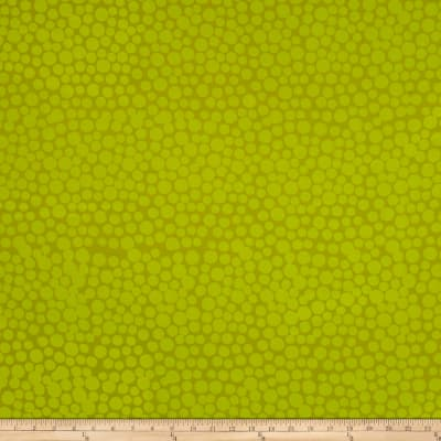 Hoffman Me+You Indah Batiks Large Dots Key Lime