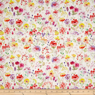 STOF France French Fantaisy Floral Multi