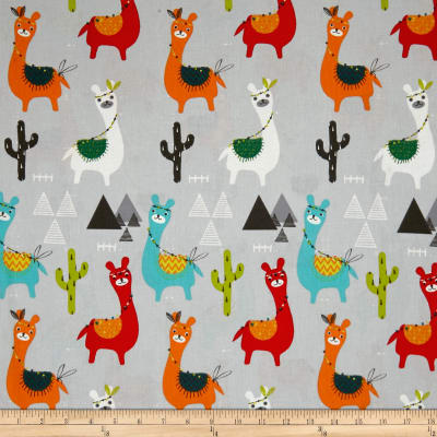 Stof France Infants Guanaco Gris