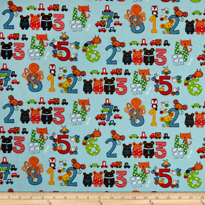 Stof France Infants Octopus Multicolore