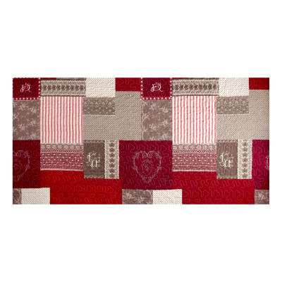 Stof France Infants Arkansas Rouge Double Faced Quilted