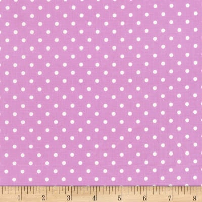 Timeless Treasures Polka Dot Lilac