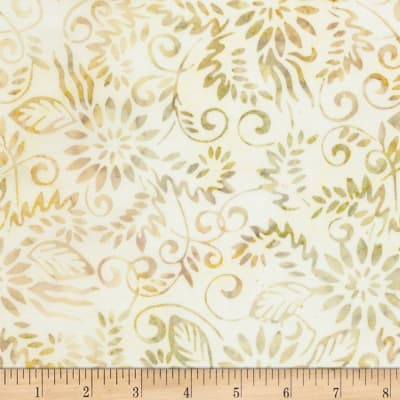 "Timeless Treasures 106""Batik Wide Back Fairytale Coconut"