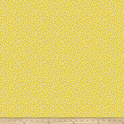 Denyse Schmidt Ludlow Belly Button Dot Yellow