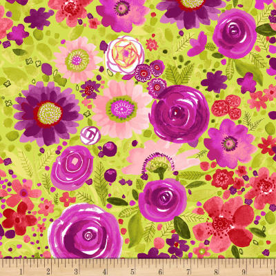 Fresh Picked Floral Multi Bright