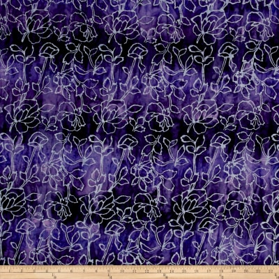 Fresh Batiks Botanica 4 Purple