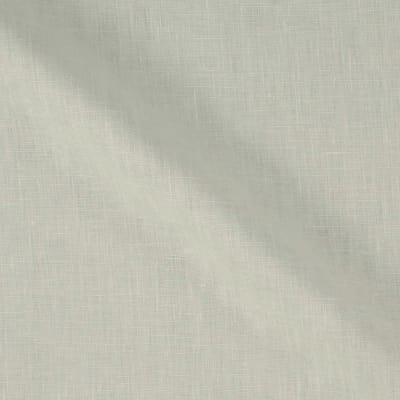 100% European Medium Weight Linen White