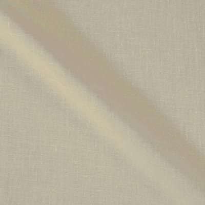 100% European Medium Weight Linen Ivory