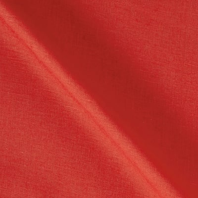 100% European Medium Weight Linen Coral