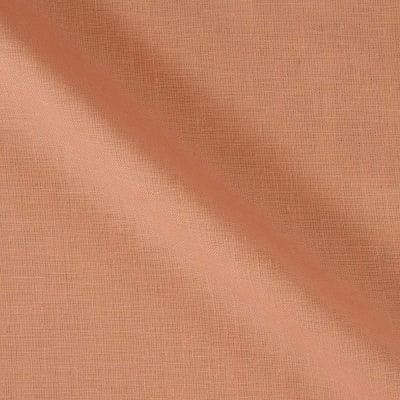 100% European Medium Weight Linen Peach
