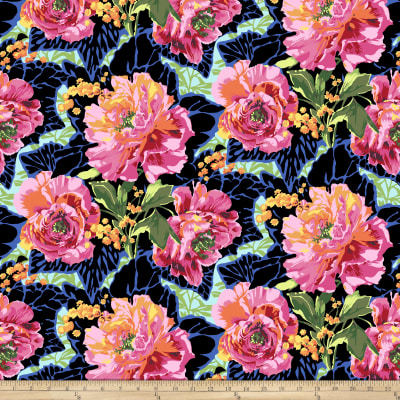Philip Jacobs Roaring 20s Peony and Leaves Decox