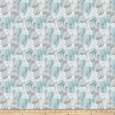FreeSpirit Bloom Beautiful Soft Feather Turquoise