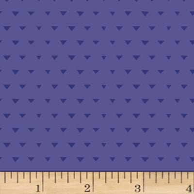 Jetset Europe Triangles Dark Periwinkle