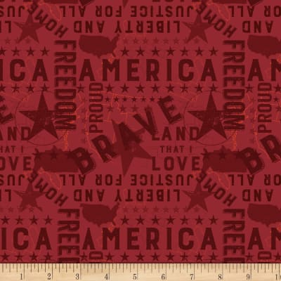 Land That I Love Americana Red