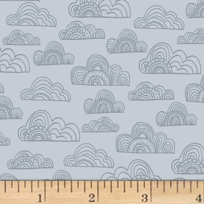 Jungle Fever Clouds Light Gray