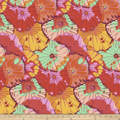Kaffe Fassett Collective Lotus Leaf Citrus