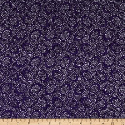 Kaffe Fassett Collective Aboriginal Dot Indigo