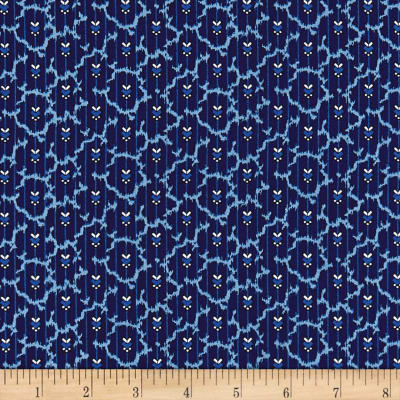 Temperance Blues Foulard Blue/Neutral