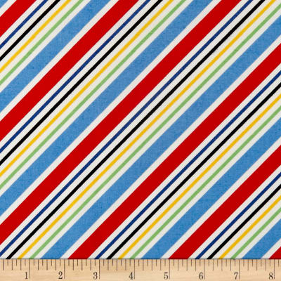 Holly's Dollies Stripe Red/Blue