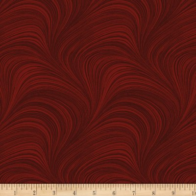 Wave Texture   Dark Red