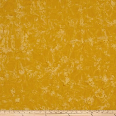 Anthology Batiks Lava Solid Mustard