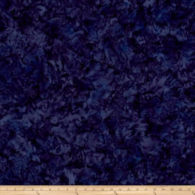 Anthology Batiks Lava Solid Denim