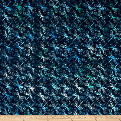 Anthology Batik Dragonfly Azure