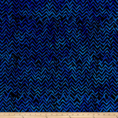 Anthology Batiks Chevron Blue