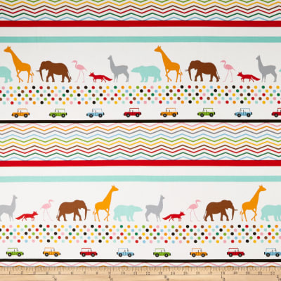 Little Explorers Border Stripe Multi