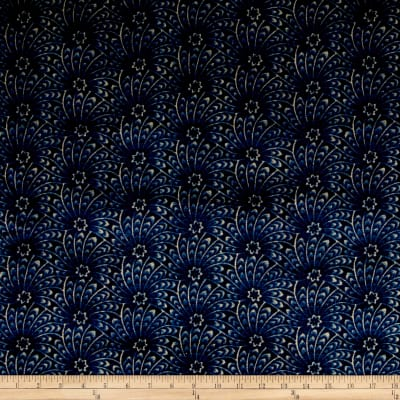 Liberty Fabrics Interiors Capello Shell Velvet Stream